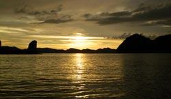 Phuket and Phang Nga Sunset